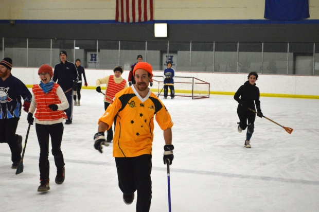 Donchetz Broomball 2014