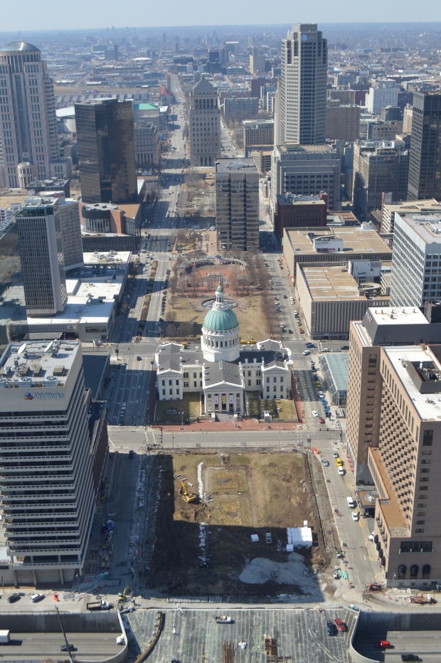 A view from the arch
