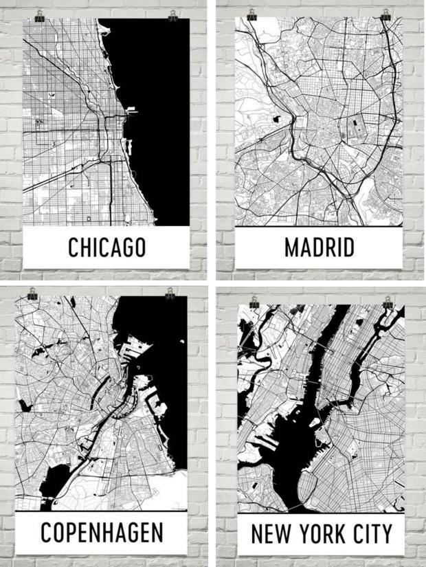 Modern Art Map